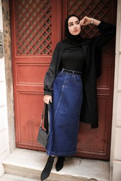 Hijab Fashion Summer, Modest Fashion Hijab, Modern Hijab Fashion, Street Hijab Fashion, Hijab Fashion Inspiration, Muslim Fashion, Mode Inspiration, Fashion Outfits, Oufits Casual