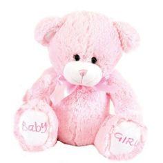 Cute 10 inch 'Baby Girl' soft bear by Baby Posh Paws pink by angelkids, http://www.amazon.co.uk/dp/B00A5JRSLA/ref=cm_sw_r_pi_dp_IQb4sb0VDTRAT