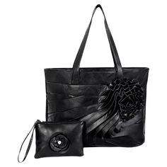 Parinda June Faux Leather Large Handbag with Wristlet, Women's - 11065