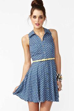 Spot Stop Dress