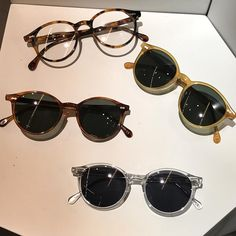THE BESPOKE DUDES EYEWEAR — 1,2,3,4? It's so difficult to choose a favorite of...