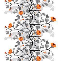 Ofelia ist ein wunderbarer Blumenstoff, der von Åsa Ericson für Arvidssons Textil designt wurde. Hergestellt in Schweden