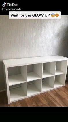 Diy Furniture Renovation, Diy Home Furniture, Diy Furniture Projects, Refurbished Furniture, Furniture Makeover, Home Projects, Ikea Furniture Hacks, Ikea Hacks, Diy Crafts For Home Decor