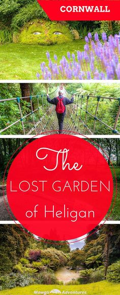 There is so much to explore at the lost garden of Heligan. A day of discovering secret gardens, rope bridges and a giant's adventure…
