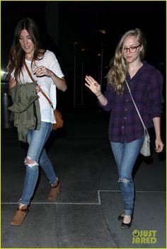 Celeb Diary: Amanda Seyfried & Jennifer Carpenter @ ArcLight Cinemas in Hollywood
