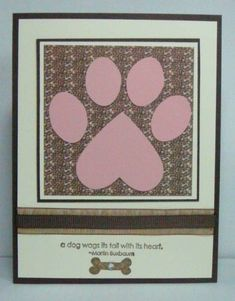 Dog Sympathy by gertown - Cards and Paper Crafts at Splitcoaststampers