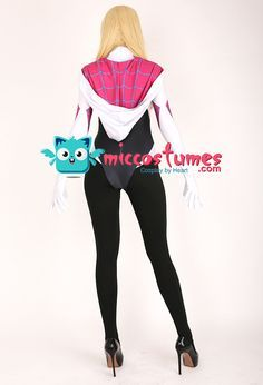 Spider Gwen Cosplay, Jumpsuits For Sale, Cosplay Events, Female Superhero, Gwen Stacy, Costumes For Sale, Costume Patterns, Cosplay Costumes, Marvel Comics