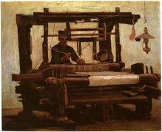 Weber am Webstuhl-Vincent van Gogh