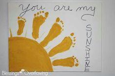 you are my sunshine preschool craft | You are my sunshine