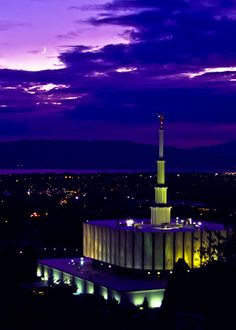 Provo Utah Temple. Gorgeous! #LDS #Mormon #Temple  We love Temples at: www.MormonFavorites.com