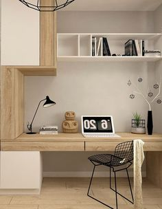 Furniture design for simple workspace at home – Modern Home Office Design Modern Home Offices, Small Home Offices, Home Office Space, Home Office Design, Home Office Decor, Home Interior Design, House Design, Office Ideas, Home Decor