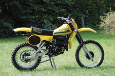 Suzuki RM 100 motocrosser (1979) (me 1984)