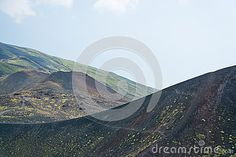 Walking through the craters of Etna