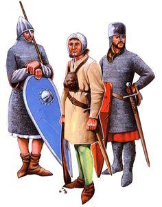 • Crusader, First Crusade, 1096 • Slinger • Man-at-arms, c.1180