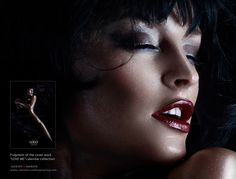 """Fragment. """"Without sleep"""".  Cover of the photo collection """"Love me"""" for brand promo calendars."""
