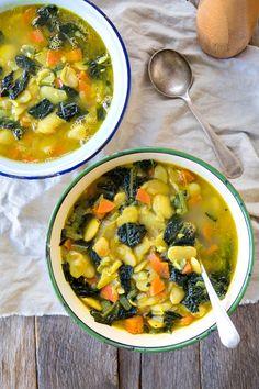 Immune Boosting Bean Soup by The Minimalist Vegan