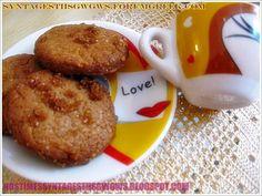 ΜΠΙΣΚΟΤΑ ΚΑΝΕΛΑΣ ΜΕ ΑΛΕΥΡΙ ΝΤΙΝΚΕΛ ΚΑΙ ΜΑΥΡΗ ΖΑΧΑΡΗ!!!   Νόστιμες Συνταγές της Γωγώς