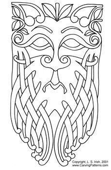 celtic norse pattern | www.CarvingPatterns.com