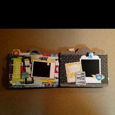 Camera Mini Album-DCWV The Snapshot Stack