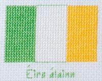 """""""Beautiful Ireland"""" free cross stitch"""
