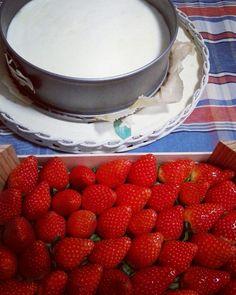 Strawberrys cheesecake