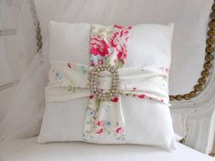 sew, project, idea, diy vintage pillows decorative, pillow design, accent pillows, decorative pillows, cushion, upcycle vintage linens