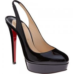 Christian Louboutin Bianca Sling- to dieeee for. Someday.