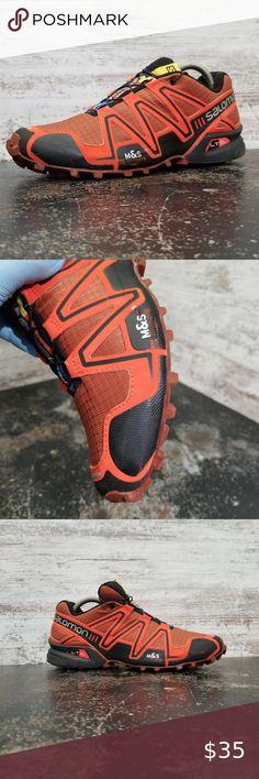 SALOMON Supercross Herren Trailrunningschuh schwarz