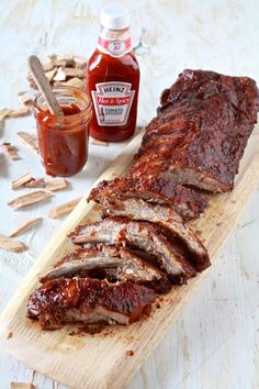 Show Us Your Heinz: Hot & Spicy BBQ Oven Smoked Ribs - The Noshery #ifyourehappy