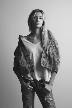 579c189c1afbf Elizabeth Jamrozy represented by TNG Models Runway Models, Las Vegas,  Ruffle Blouse
