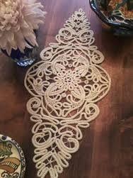 crochet table runner - Google Search