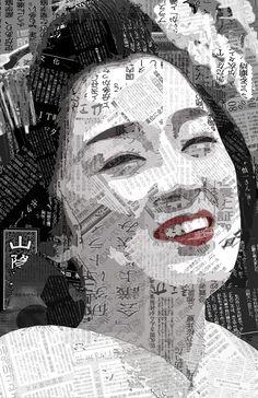 Kotoha-san a la Newspaper 2 by Tsukareru on deviantART