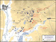 Situazione alle ore 09.00 del 2 dicembre 1805