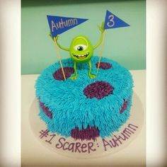 I love all the monsters inc cakes! I like minions too, they just don't look as unique as the monsters ones!