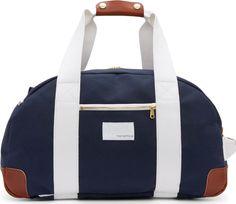Nanamica Navy Canvas Convertible Backpack Duffle Bag