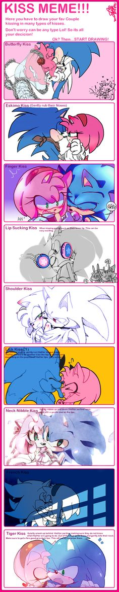 KISS MEME-SONAMY by ahaaha123 on DeviantArt