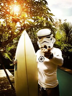The Awesome Adventures of Surfing Stormtrooper!