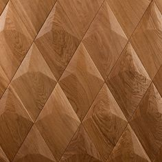 Form at wood | Diamond Wooden Wall Panels, Wood Panel Walls, Wooden Walls, Wood Paneling, Diamond Wall, Video Installation, Visual Effects, Color Card, Types Of Wood