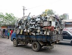 What it is: Dumped on countries to further damage their environment and atmosphere. #EWorst #Ewaste #EraseEWaste