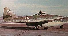 Me-262, W.Nr.110604 at Lechfeld Luftwaffe, Ww2 Aircraft, Military Aircraft, Me262, Messerschmitt Me 262, Ww2 Pictures, Ww2 Planes, Aviation Art, World War Ii