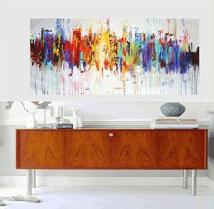 Art Painting wall art large painting abstract von jolinaanthony