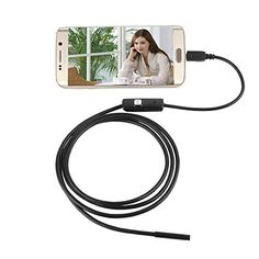 5.5mm Lens Waterproof 6 LED Android USB Endoscope Inspection Camera (5 meter) -- Read more reviews of the product by visiting the link on the image.