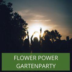 """Flower-Power geht immer! Dieses schöne Motto können Sie bedenkenlos immer und überall einsetzen. Mit """"Flower Power"""" treffen Sie das richtige Maß an Festlichkeit mit gleichzeitig locker, legerem Ambiente. Eine ungezwungene Gartenpary kann beginnen. Flower Power, Flowers, Garden Parties, Reunions, Royal Icing Flowers, Flower, Florals, Floral, Blossoms"""