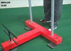 Nice find via RossTraining Awesome DIY Mauler Sled No need for any detailed explanation here as The Fitt Warehouse has provided us...