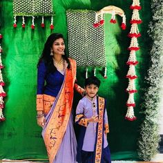 A Post with Cute and Chic Mom&Me Matching outfit collection. Also Grany, Mom and son matching ethnic wear , mom and daughter matching wear, we can say the whole family matching ethnic outfits Ideas. Mom Daughter Matching Dresses, Mom And Son Outfits, Mom And Baby Dresses, Baby Boy Dress, Matching Outfits, Kids Outfits, Lehenga, Anarkali, Sarees