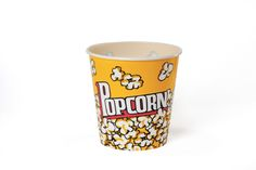Wabash Valley Farms 44049: Large Popcorn Tub - Plastic Traditional Yellow
