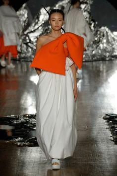 Zhixan Wang graduate of London College of Fashion MA Womenswear 2016