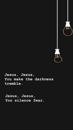 There is POWER in the name of Jesus! The Bible says that at even the sound of Jesus name that the demons run and flee. At the sound of Jesus name every. Bible Verses Quotes, Jesus Quotes, Faith Quotes, Scriptures, Bible Songs, Song Quotes, Christian Songs, Christian Quotes, Saint Esprit