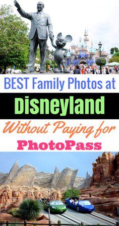 Take amazing photos at Disneyland, without paying extra for PhotoPass!