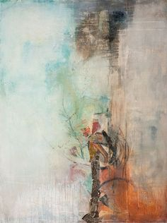 Mixed media on canvas | Outside Inside - Jennifer Perlmutter